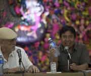 Roberto Fernández Retamar, presidente de la Casa de las Américas realizó las palabras de apertura del encuentro. Foto: Ismael Francisco/ Cubadebate.