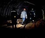 Donetsk-mineros atrapados