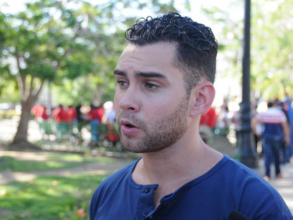 En la actualidad estudia Ingeniería Industrial en la Universidad de Matanzas y es dirigente estudiantil. Foto: Tomada de www.5septiembre.cu