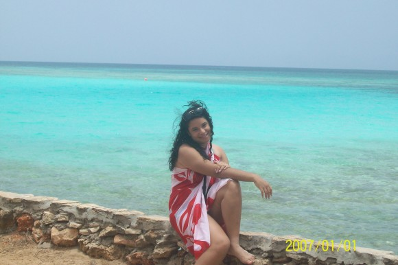 En la Playa. Foto Odalys / Cubadebate