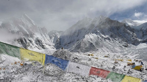 El Everest. Foto: AFP