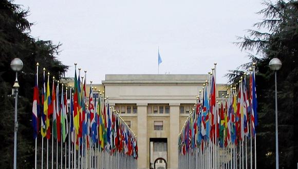 sede de las Naciones Unidas en Ginebra.