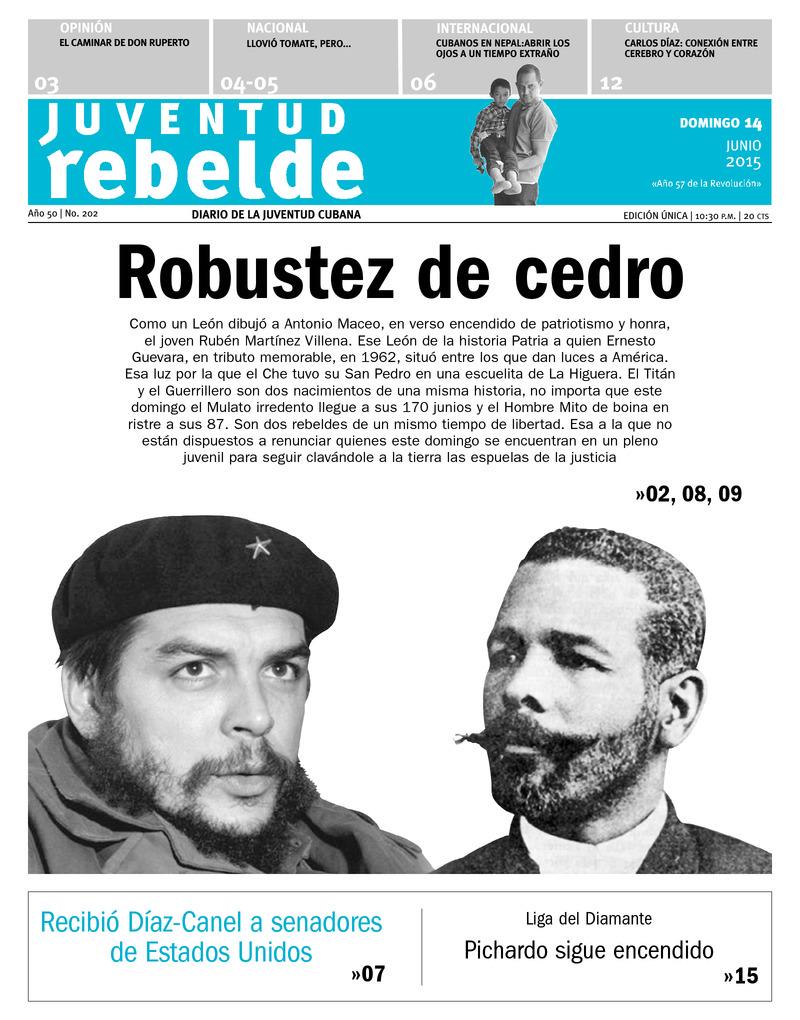 Homenaje a Maceo y Che en Villa Clara