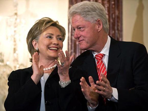 La carrera presidencial de 2016 podría ser entre dos dinastías, la Bush y la Clinton, si Hillary decide presentarse. Foto: Getty Images.