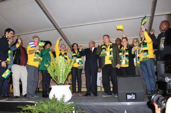 Los Cinco con Zuma