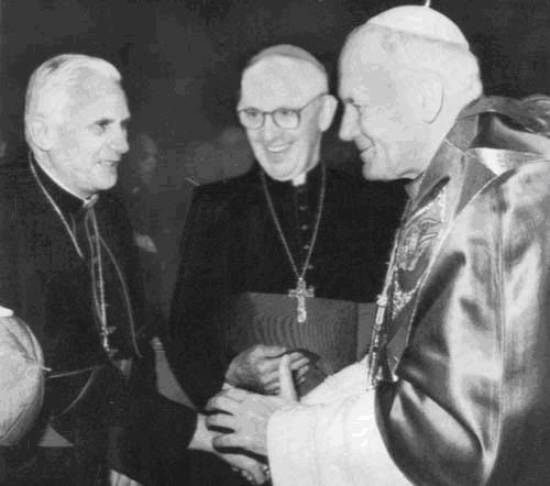 Los tres últimos Papas