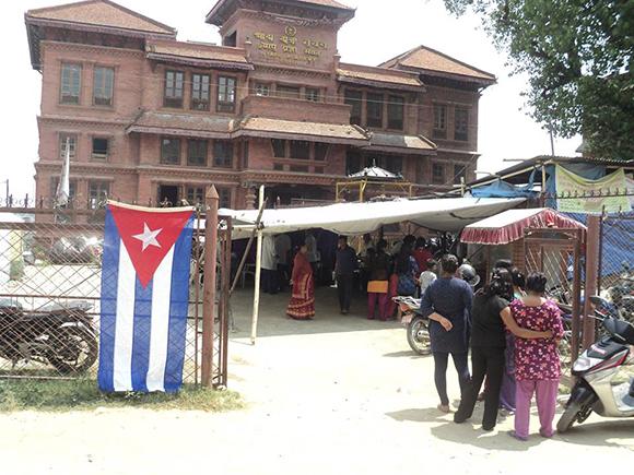 Médicos en Nepal
