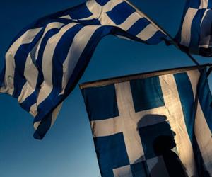 Manifestación en grecia
