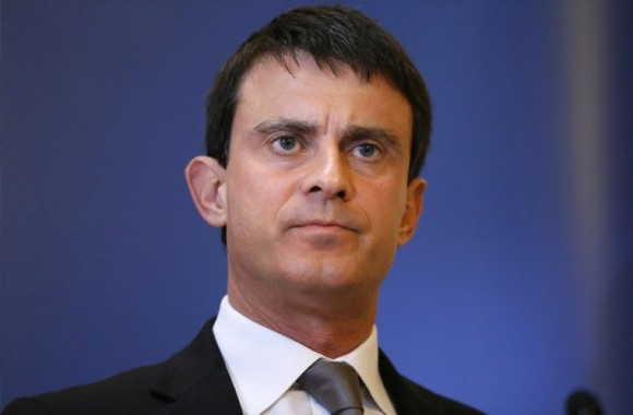 Manuel Valls, primer ministro de Francia.