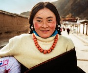 Mesata tibetana, China.
