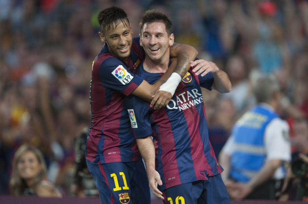 Neymar y un mensaje a Messi