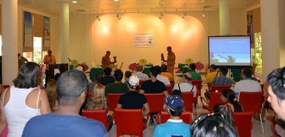 Momento de la inauguración del Torneo Jardines del Rey. Foto: Katheryn Felipe