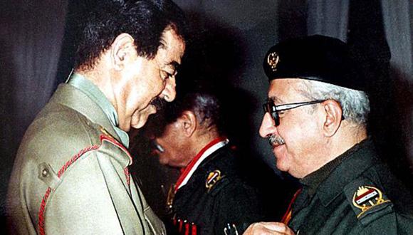Tariq Aziz es considerado la imagen pública de Sadam Hussein. Foto: AP (Archivo).