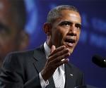"""El legado del esclavismo """"arroja una larga sombra, y eso sigue formando parte de nuestro ADN heredado"""", lamentó Barack Obama. Foto: AP/ Archivo"""