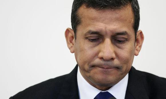 Ollanta Humala. Foto: AP (Archivo).