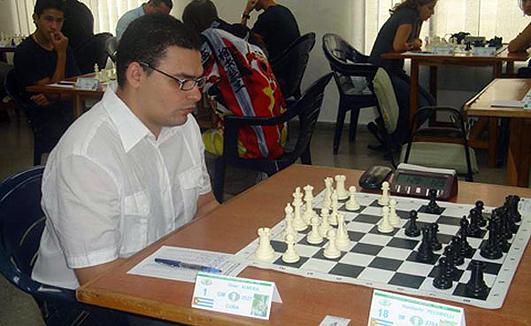 El cubano Omar Almeida fue el vencedor en el Torneo Abierto. Foto tomada de radiococo