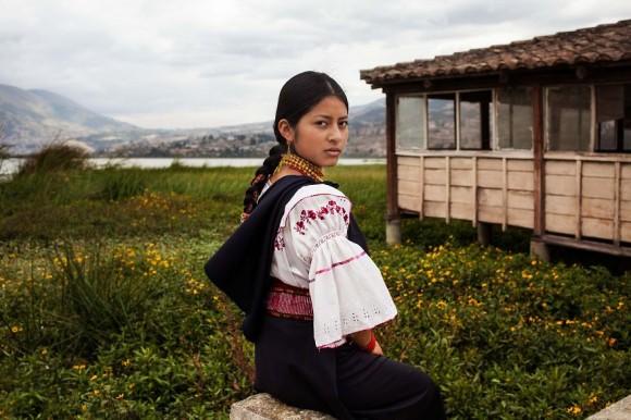 Otavalo, Ecuador.