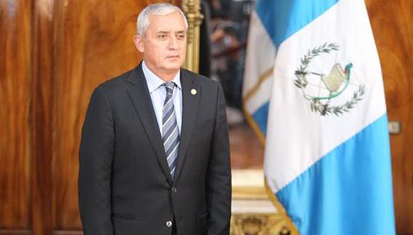 Otto Pérez Molina, Presidente de Guatemala. Foto: Archivo de PL