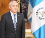Otto Pérez Molina presidente de Guatemala