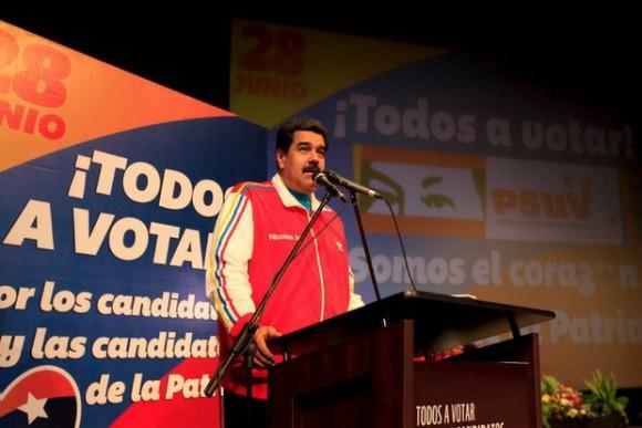 El 22 de junio pasado, el presidente Nicolás Maduro anunció que las elecciones venezolanas se realizarán el 6 de diciembre. Foto: Reuters