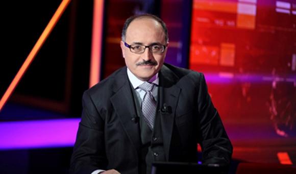Presidente del Canal Al Mayadeen, Ghassan Ben Jeddou.