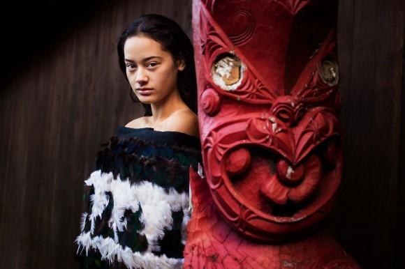 Templo maorí, Nueva Zelanda.