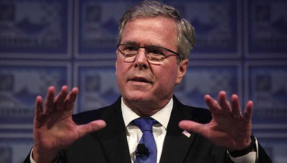 """""""Yo soy yo"""", ha dicho Jeb Bush para distanciarse de su hermano. Foto: Getty Images."""