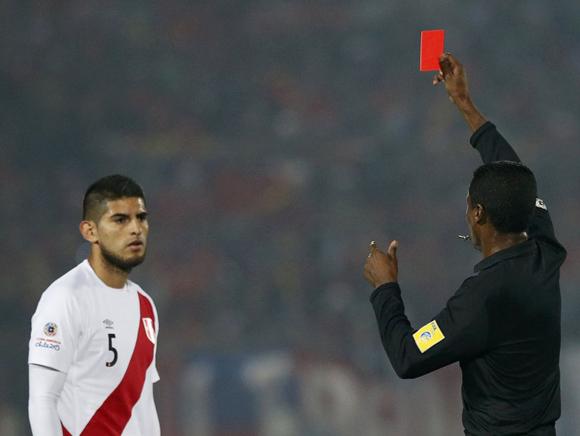 """Zambrano condenó a los """"guerreros"""" de Gareca,. Foto: Reuters."""