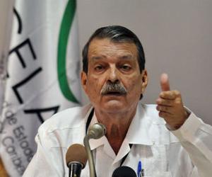 El vicecanciller cubano, Abelardo Moreno. Foto: EFE.