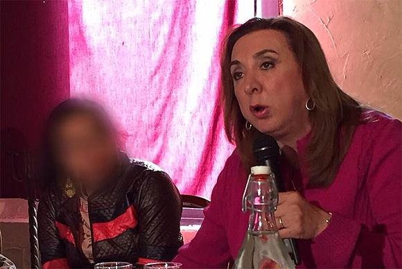 Activistas contra la trata afirman que gente con poder en Oaxaca amenazan a la familia de Edith por la detención de sus agresores.