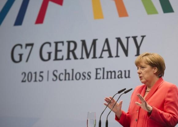 La canciller alemana, Angela Merkel. Foto: EFE.