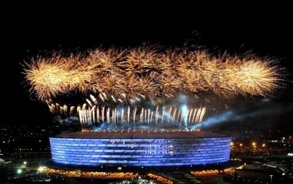 Ceremonia inaugural de los Primeros Juegos Europeos.