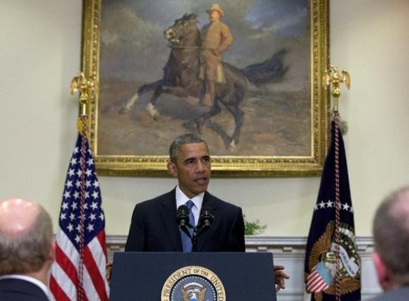 El presidente de Estados Unidos, Barack Obama, en imagen de este miércoles. Foto: AP.