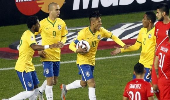 Brasil venció con apuros. Foto: EFE