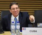 El Ministro de Relaciones Exteriores de Cuba, Bruno Rodríguez Parrilla asiste a la reunión de Cancilleres de la Unión Europea y la Comunidad de América Latina y el Caribe (UE-CELAC) en Bruselas, Bélgica, el martes, 9 de junio de 2015. Los ministros de Relaciones Exteriores se reúnen previo a la Cumbre UE-CELAC programada los días 10 al 11 junio. Foto: Emmanuel Dunand / AP.