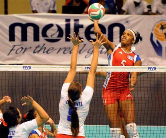 Cuba avanzó a semifinales de la Copa Panamericana de Voleibol