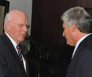CUBA-LA HABANA-RECIBE DÍAZ-CANEL A CONGRESISTAS ESTADOUNIDENSES