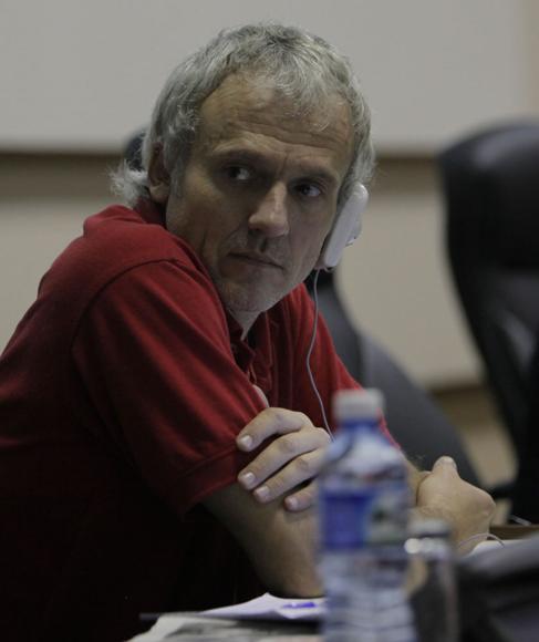 Enrique Amestoy, asesor del Ministerio de Relaciones Exteriores para temas de Tecnologías de la Información  y Comunicaciones de Uruguay. Foto: Ismael Francisco/ Cubadebate