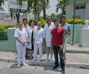 Equipo Multidisciplinario del Policlícino Bernardo Pose, en San Miguel del Padrón. Foto: Ladyren Pérez/Cubadebate