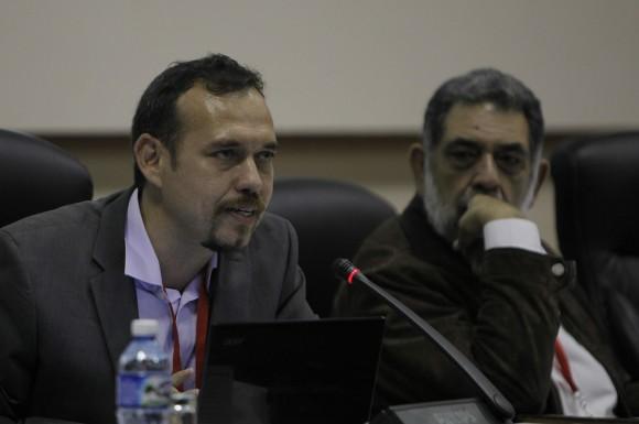 """Conferencia Internacional """"Nuevos escenarios de la Comunicación Política en el ámbito digital 2015"""". Foto: Ismael Francisco/ Cubadebate"""