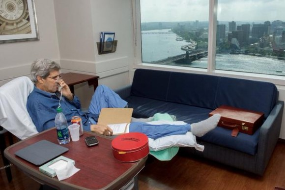 John Kerry. Foto: @johnterry/ Twitter