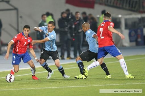 En tenso partido Chile derrota a Uruguay 1-0 y es semifinalista de ... 65ff14b06d4bd