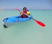 Kayack en Varadero. Foto: Oscar Telleria / Cubadebate