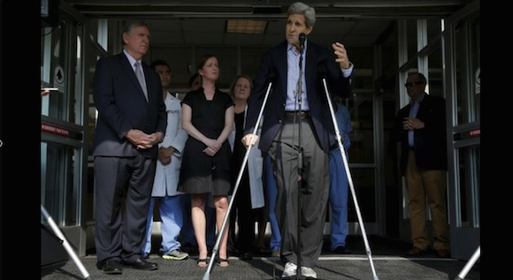 El secretario de estado de Esatdos Unidos, John Kerry. Foto: Reuters