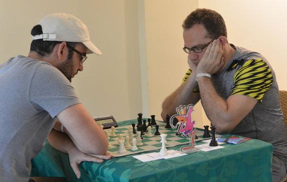 Leinier volvió a ganarle a Eljanov. Foto: Katheryn Felipe