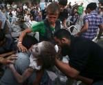 Labores de rescate en el barrio Douma en Damasco (Siria) tras un bombardeo de las fuerzas leales al presidente sirio, Bashar al-Asssad. Foto: Reuters.