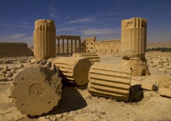 Antes del inicio de la contienda en el país, en marzo de 2011, sus ruinas eran una de las principales atracciones turísticas del país árabe y de toda la región. En la imagen, Templo de Bel en la Palmira, Siria. Foto: Eric Lafforgue/ Corbis.