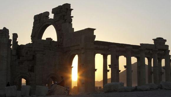 Ruinas romas en  Palmira. Foto: Reuters.