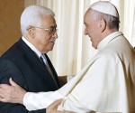 papa francisco madmud abbas