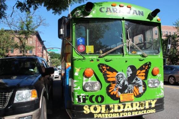 Inicia recorrido nueva Caravana de Pastores por la Paz.
